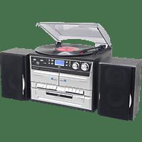 SOUNDMASTER MCD5500SW Kompaktanlage (Schwarz/Silber)