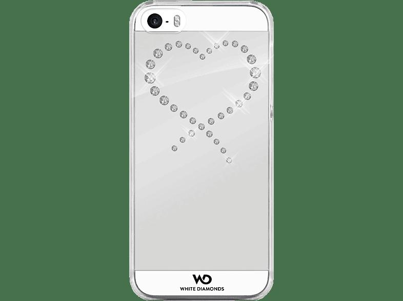 WHITE DIAMONDS Eternity , Backcover, Apple, iPhone 5, iPhone 5s, iPhone SE, Kunststoff, Crystal