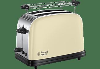 RUSSELL HOBBS 23334-56 Colours Classic Toaster Cream (1100 Watt, Schlitze: 2)