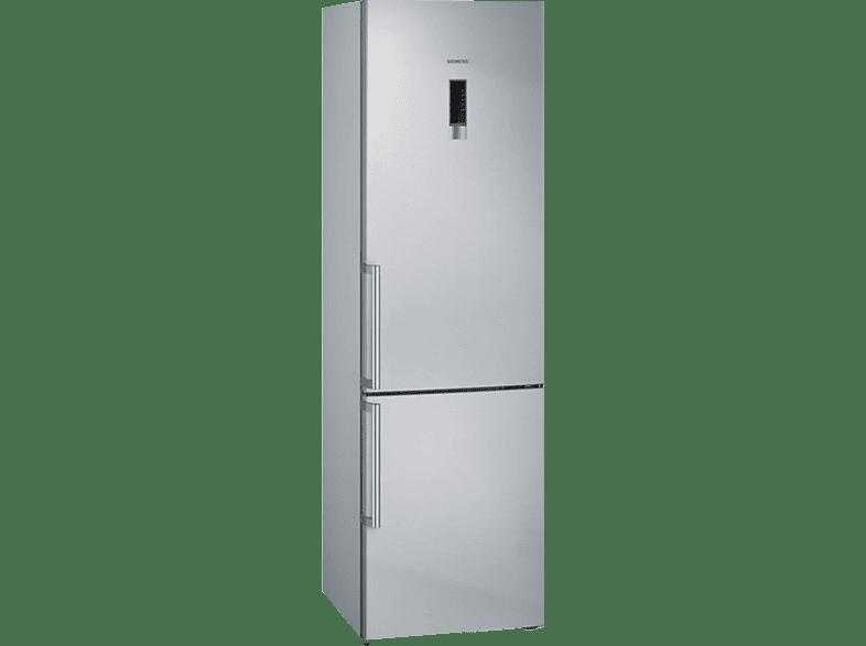 SIEMENS KG39NXI46 iQ300 Kühlgefrierkombination (A+++, 182 kWh/Jahr, 2030 mm hoch, Edelstahl)