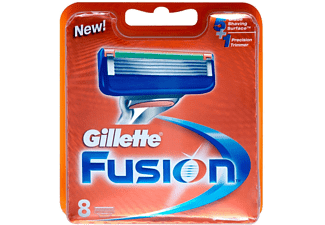 GILLETTE Fusion Men's rakblad, 8-pack