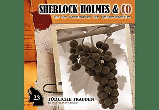 Sherlock Holmes & Co - Sherlock Holmes & Co 23: Tödliche Trauben  - (CD)