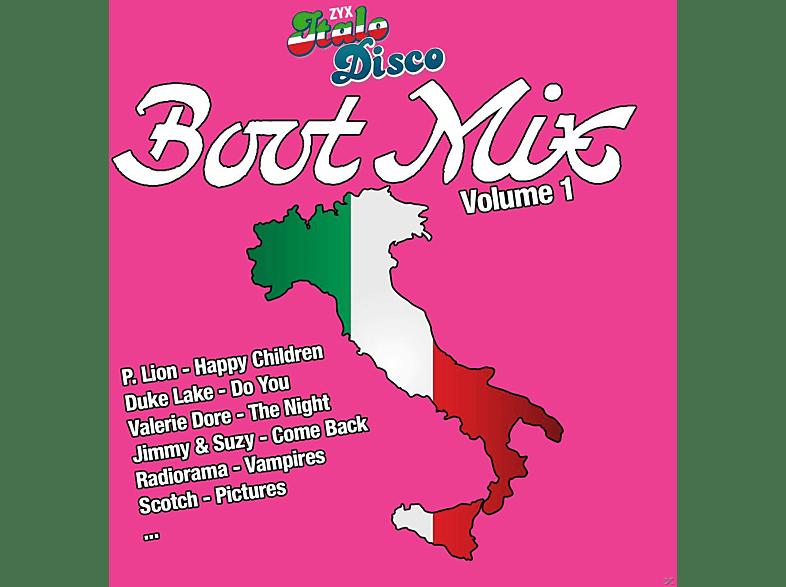 VARIOUS - Zyx Italo Disco Boot Mix Vol.1 [Vinyl]
