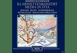 Donath - Media in vita op.35/Klarinettenkonzert op.72  - (CD)