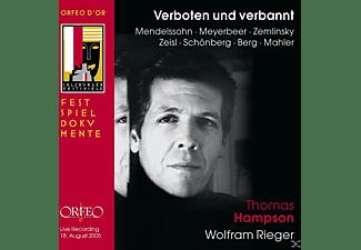 Wolfram Rieger, Thomas Hampson - Verboten Und Verbannt  - (CD)