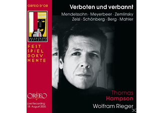 Wolfram Rieger, Thomas Hampson - Verboten Und Verbannt - (CD)