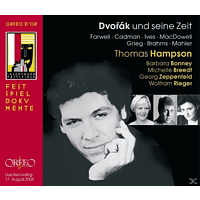 Thomas Hampson, Barbara Bonney, Michelle Breedt, Wolfram Rieger, Georg Zeppenfeld - Dvorak und seine Zeit:Lieder op.2/Abendlieder/+ [CD]