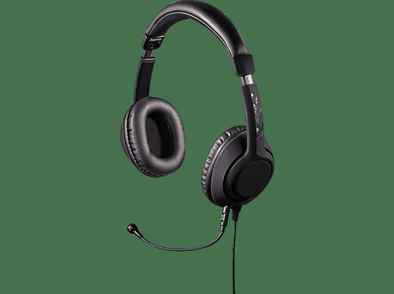 HAMA Black Desire PC-Headset Schwarz