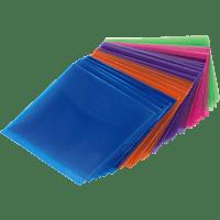 HAMA CD-/DVD Schutzhüllen, Farblich sortiert
