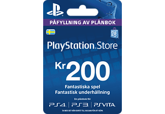 SONY TT PlayStation Network Card 200kr
