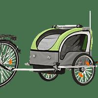 FISCHER 86388 Kinder-Fahrradanhänger Komfort