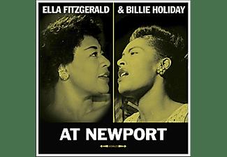 FITZGERALD, ELLA/HOLIDAY, BILLIE - At Newport  - (Vinyl)