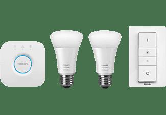 PHILIPS Hue White Ambiance LED E27 Starter Set, weiß