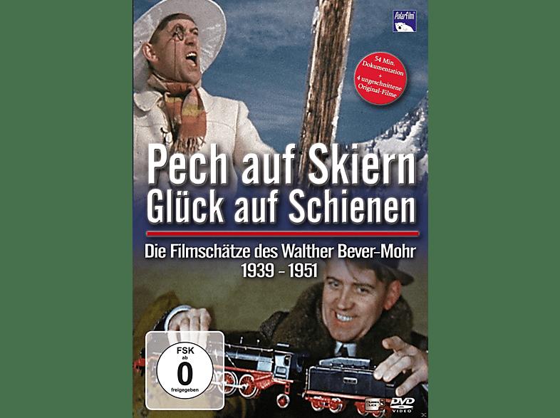 Pech auf Skiern, Glück auf Schienen - Die Filmschätze des Walther Bever-Mohr [3D Blu-ray]