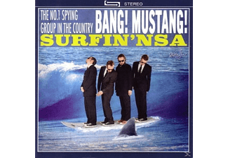 Bang! Mustang! - Surfin' NSA (Lim.Ed.)  - (Vinyl)