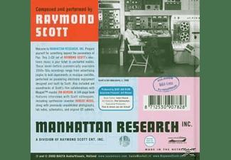 Raymond Scott - MANHATTAN RESEARCH INC.  - (CD)