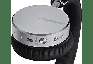 PIONEER SE-MJ561BT-S, On-ear Kopfhörer Bluetooth Silber