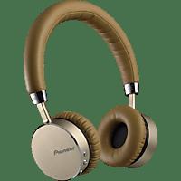 PIONEER SE-MJ561BT-T, On-ear Kopfhörer Bluetooth Braun