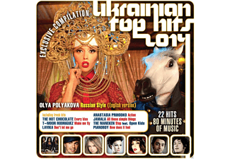 VARIOUS - Ukrainian Top Hits 2014  - (CD)