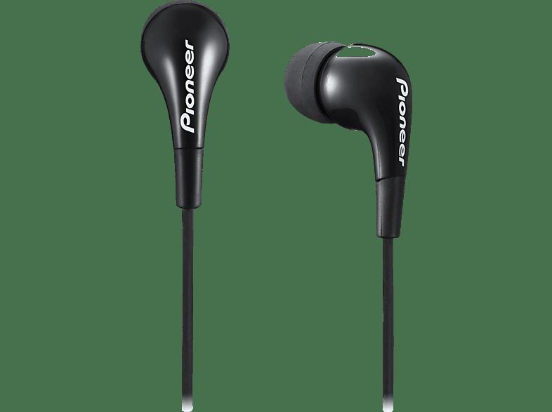 PIONEER SE-CL502-K, In-ear Kopfhörer  Schwarz
