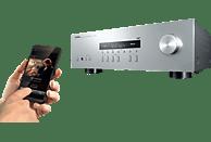 YAMAHA R-S202D  Stereo-Receiver (2 Kanäle, 115 Watt pro Kanal, Silber)