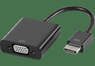 VIVANCO HDMI - VGA-Adapter, HDMI® Stecker auf VGA-Buchse schwarz