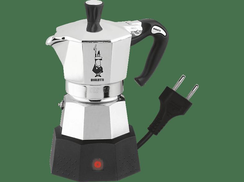 BIALETTI 2778 Elektrika Espressokocher Silber