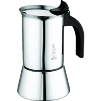 BIALETTI 1698 Venus 2 Tassen Espressokocher Silber