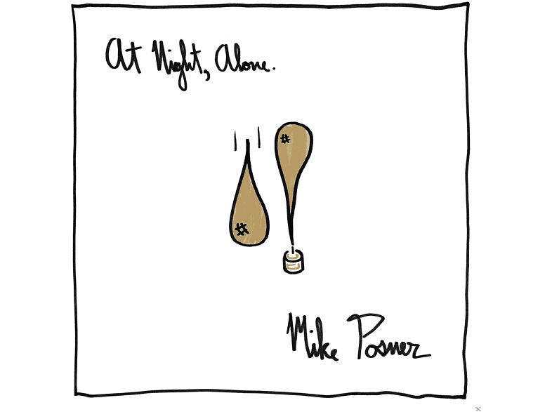 Mike Posner - At Night,Alone. [CD]