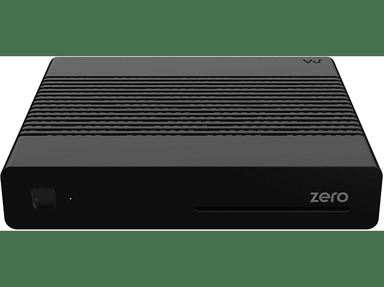 VU+ ZERO Linux Receiver 1x DVB-S2 Tuner (HDTV, DVB-S, DVB-S2, Schwarz)