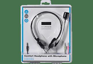 VIVANCO 36651, On-ear Stereo Headset Schwarz