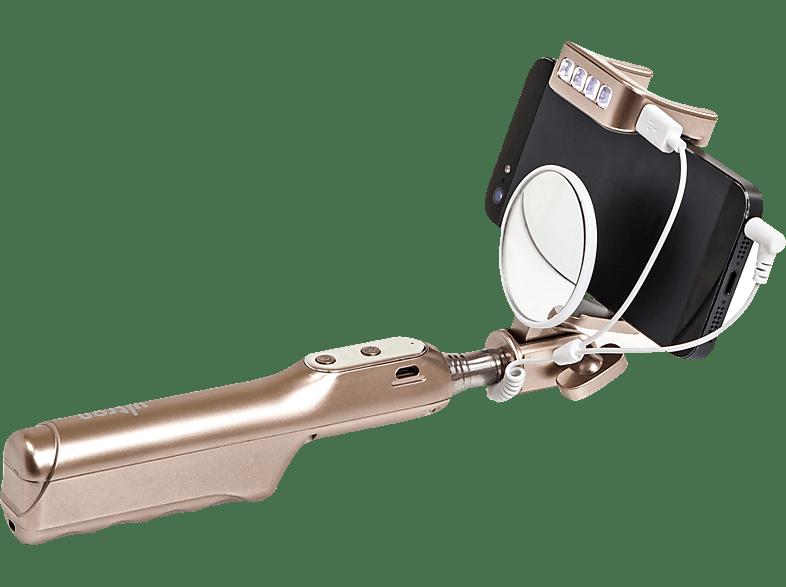 ULTRON 185949 Deluxe Flash Selfie Stick, Gold
