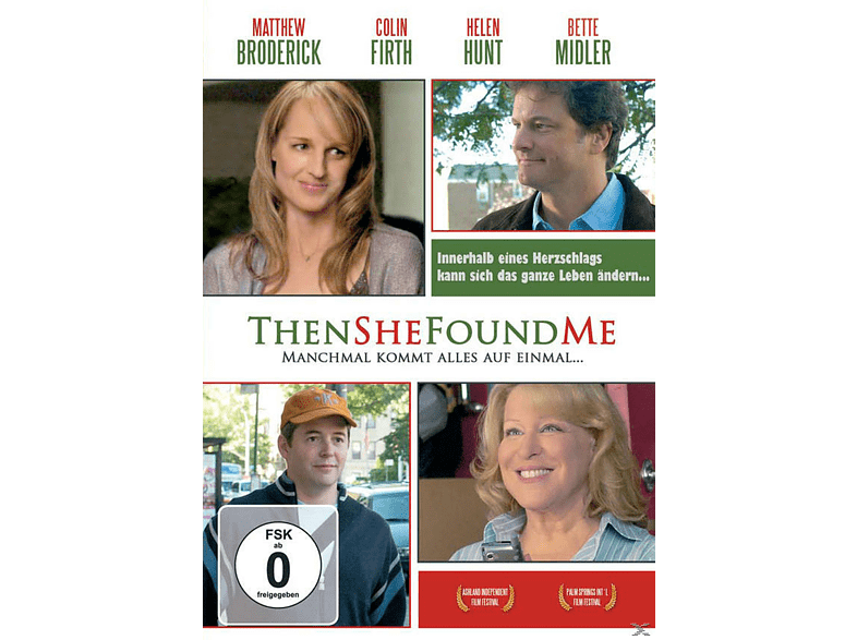 Then She Found Me [DVD]