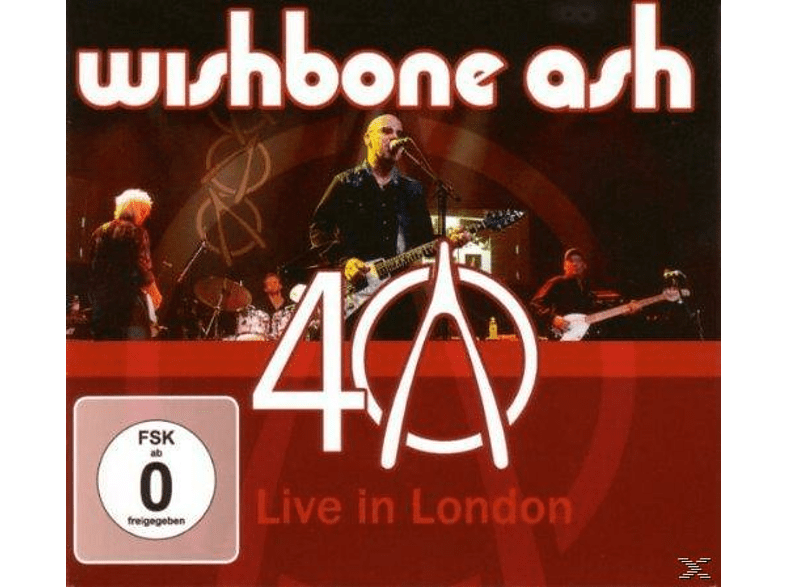 Wishbone Ash - 40th Anniversary Concert-Live In London [CD + DVD Video]