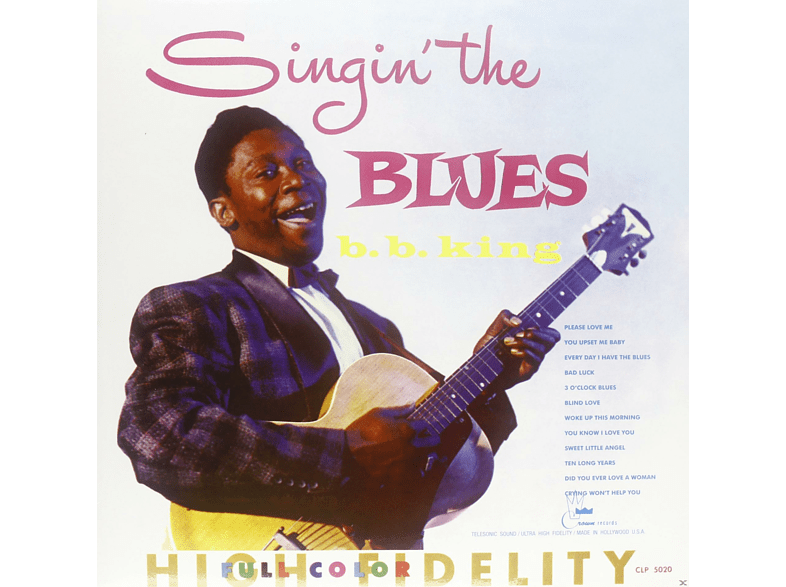 B.B. King - SINGIN THE BLUES [Vinyl]