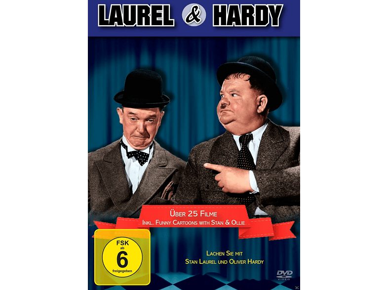 Die Laurel & Hardy Box (20 Filme + Bonus) [DVD]