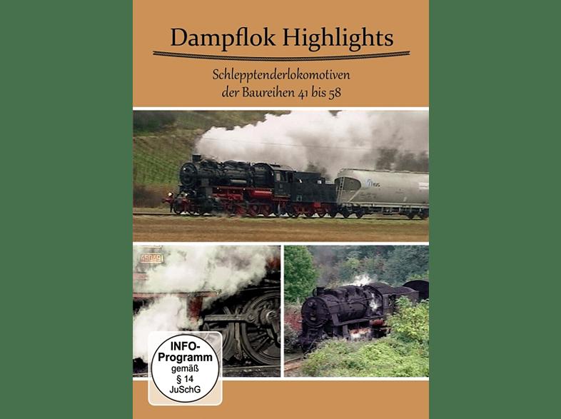 Dampflok Highlights Schlepptenderlokomotiven [DVD]
