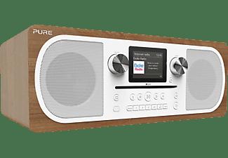 PURE EVOKE C-F 6 Kompaktanlage, DAB+, DAB, Internet Radio, Braun