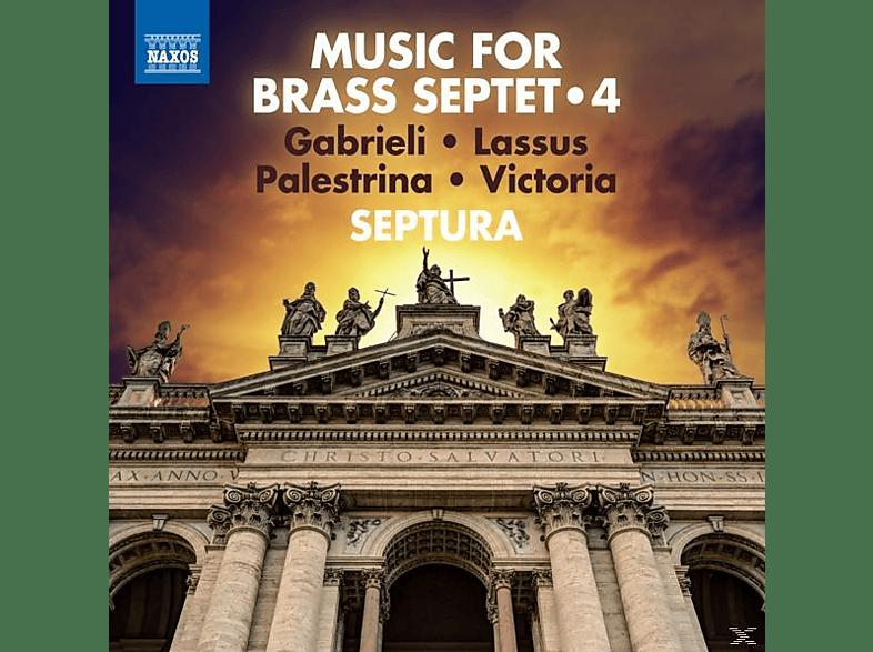 Septura - Musik für Blechbläserseptett Vol.4 [CD]