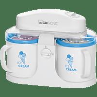 CLATRONIC ICM 3650 Eismaschine (12 Watt, Weiß)