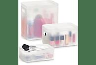 ZELLER 14706 3-tlg. Kosmetikbox