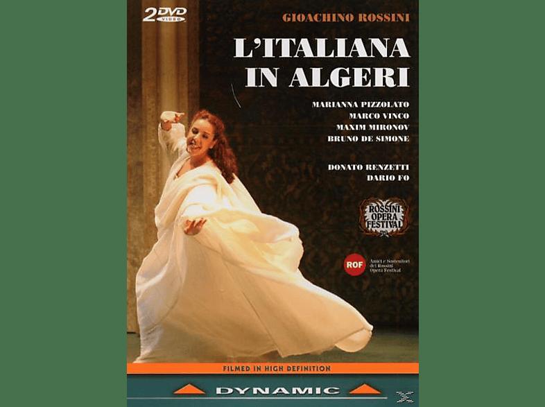 Marianna Pizzolato, Pizzolato/Vinco/Mironov/Simone - L'Italiana In Algeri [DVD]