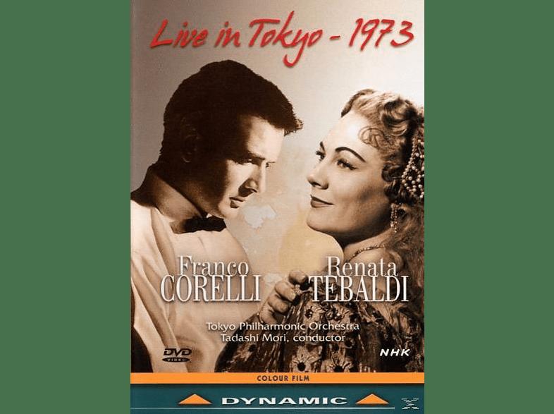 Tokyo Philharmonic Orchestra - Corelli Und Tebaldi Live [DVD]