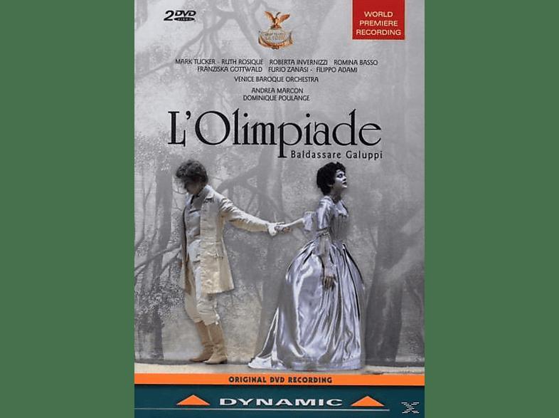 Baldassare Galuppi, Tucker/Rosique/Invernizzi/Basso/Marcon/+ - L'Olimpiade [DVD]