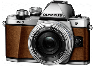 OLYMPUS OM-D E-M10 Mark II LIMITED EDITION Fuchsbraun mit Objektiv M.Zuiko digital 14-42mm