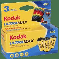 KODAK Ultra max 400 135/24 Film Dreierpack, Kleinbildfilm