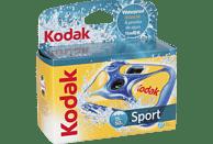 KODAK Water and Sports 27 Wasserdichte Einwegkamera, Blau, Gelb