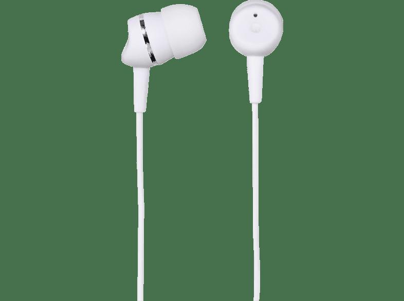 HAMA First Phone, In-ear Kopfhörer  Weiß
