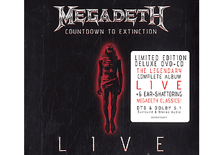Megadeth - Countdown To Extinction - Live (CD + DVD)