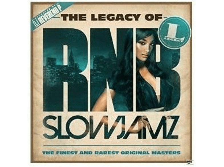 VARIOUS - The Legacy of Rn'B Slow Jamz [CD]